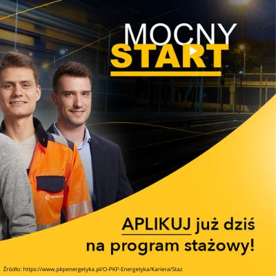 Program Stażowy-Mocny Start w PKP Energetyka