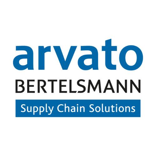 Logo arvato BERTELSMANN Supply Chain Solutions