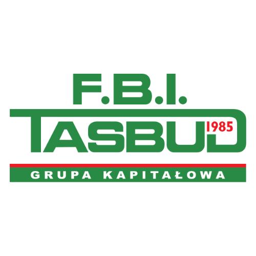 Logo F.B.I. TASBUD. Grupa Kapitałowa