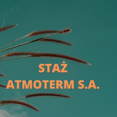 Staż w Atmoterm S.A.