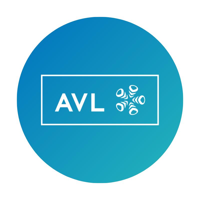 logo firmy AVL